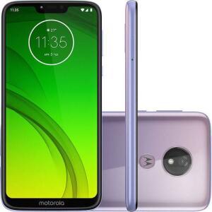 Motorola Moto G7 Power 64GB Dual Chip Lilás | R$759