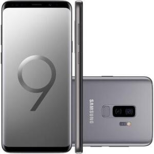 Smartphone Samsung Galaxy S9+ 128GB, 12MP, Tela 6.2´, Cinza - R$2400