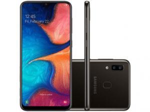 Samsung Galaxy A20 Preto | R$750