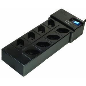 [ ATUALIZADO 04/09 ] DPS - 8 tomadas - Clamper Multi Energia - Preto