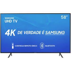 "Smart TV LED 58"" Samsung 58RU7100   R$2.899"