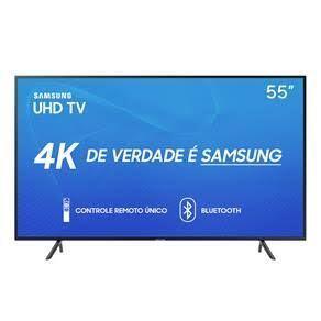 "[CC americanas] Smart TV LED 55"" Samsung 4K HDR 55RU7100 | R$2.269"