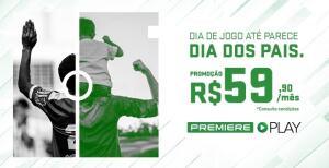 Premiere Play por R$60 por mês