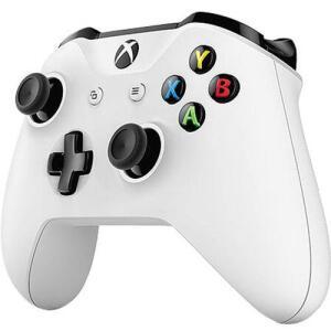 Controle sem Fio Xbox One Branco com Bluetooth - Microsoft - R$169