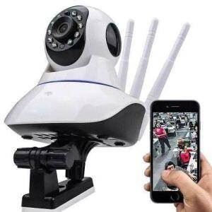 Câmera Ip Sem Fio 360° 3 Antenas HD R$ 70