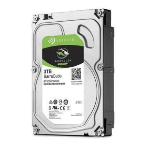 HD 3TB Seagate BarraCuda 3.5'' - 7200rpm - St3000Dm007   R$481