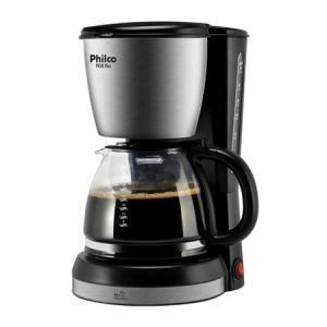Cafeteira Philco Ph30 Plus com Capacidade de 1,5L - Preto/Aço - R$89