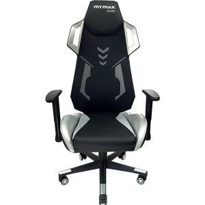 [Marketplace] Cadeira Gamer Mx10 Giratoria Preto/prata - Mymax R$759