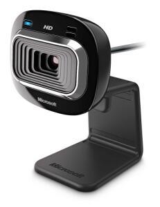 Webcam Hd-3000 Usb Preta Microsoft
