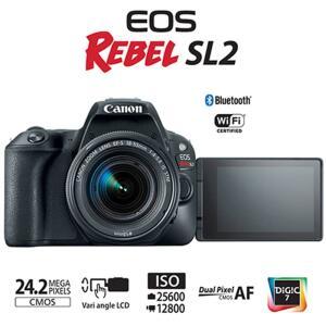 Câmera Fotográfica DSLR Canon Eos Rebel Sl2