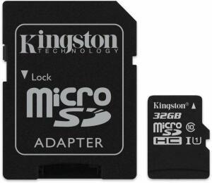 Cartão De Memória Canvas Select Microsd 32Gb, Kingston, Cartões Sd, Preto R$ 24