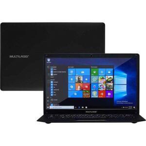 "Notebook Legacy Quad Core Z8350 2GB 64GB 14"" Multilaser PC107 | R$614"