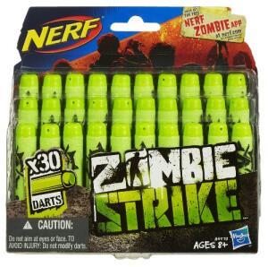 Refil Nerf Zombie 30 Dardos Hasbro Verde | R$30