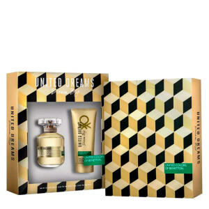 Benetton Dream Big Her Kit - Eau de Toilette + Loção Corporal R$59