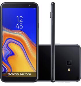 """(1xAmericanas+Cupom) Smartphone Samsung Galaxy J4 Core 16GB Nano Chip Android Tela 6"""" Quad-Core 1.4GHz 4G Câmera 8MP"""