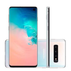 Smartphone Samsung Galaxy S10 Branco 128GB | R$2975