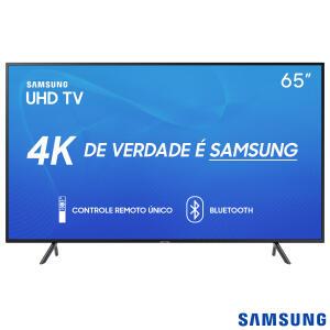 "Smart TV Samsung UHD 4K 2019 RU7100 65""   R$3847"