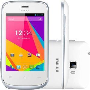 "Smartphone Blu Dash Jr D-192l Dual Chip Android Tela 3.5"" 512MB 3G | R$100"