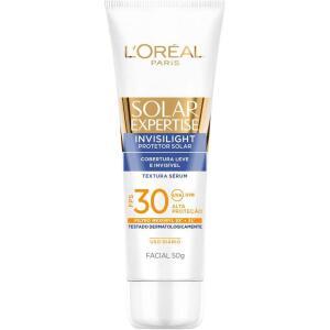 [R$28 com AME] 2 UN Protetor Solar Facial L'Oréal Invisilight Fps 30 Visage | R$36
