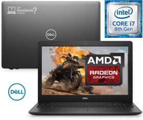 Notebook Dell Inspiron i15 3583-A30P  *Novo Core i7 | HD 2 TB | RAM 8 GB  | Vídeo AMD Radeon50