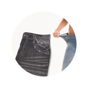 Calça Modeladora Lejeans – 1 Unidade (Preta) | R$47