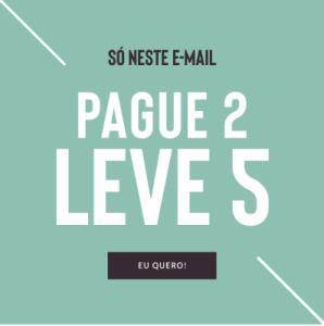 Pague 2, LEVE 5! Produtos The Beauty Box