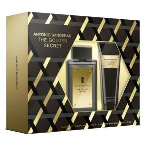 Antonio Banderas The Golden Secret Kit - Eau de Toilette 100ml + Pós Barba 75ml - R$79