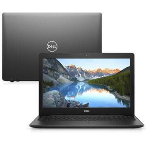"Notebook Dell Inspiron I15-3583-u50p 8ª Ger. Intel Core I7 8gb 256gb Ssd Placa Amd 15.6"" Linux Preto Mcafee - R$3183"