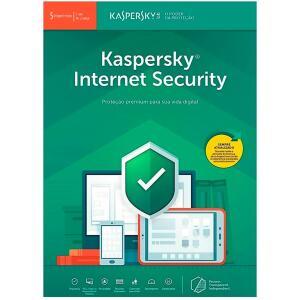 Kaspersky Internet Security 2019 Multidispositivos 5 PCs - Digital para Download - R$100