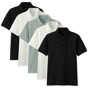 Kit com 5 Camisas Polo Part.B Regular Piquet   R$130