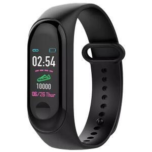 Relógio Medidor Inteligente Pulso Freqüência Cardíaca M3 | R$38