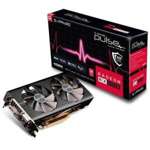 Placa de Vídeo Sapphire AMD Radeon RX 590, 8GB, GDDR5