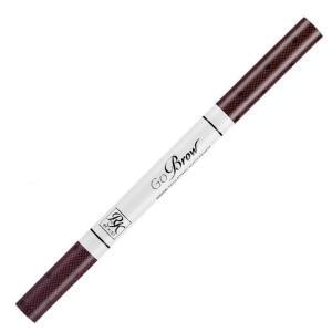 Lápis para Sobrancelha Retrátil RK by Kiss - Dark Brown R$13