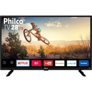 "[CC shoptime] TV Smart LED 28""' Philco PTV28G50SN | R$670"