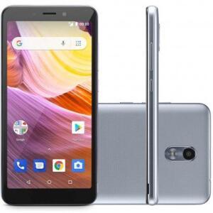 Smartphone Multilaser MS50G 8GB Desbloqueado + MicroSD 32GB Prata -R$250