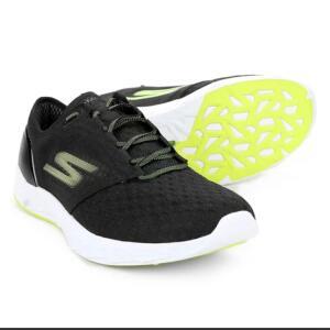 Tênis Skechers Go Meb Speed 5 Masculino - Preto e verde - R$146