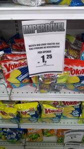 (Loja física Americanas) Batata Yoki 45g - R$1,25