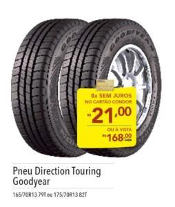 [Curitiba] [Loja Física/ Condor] Pneu Direction Touring Goodyer Aro 13 | R$168