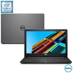 "Notebook Dell, Intel Core i5-8250U, 8GB, 2TB, Tela 15,6"", AMD Radeon 520, Inspiron 15 Série 3000 R$2.747"