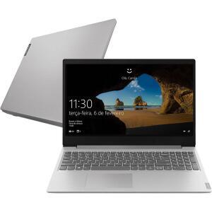 """Notebook Lenovo Ultrafino Ideapad S145 8ª Intel Core I7 8GB (Geforce MX110 com 2GB) 1TB FHD 15,6"""" W10 Prata"""
