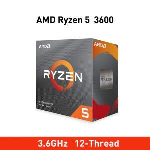 Processador AMD Ryzen 5 3600 3.6GHz/ 4.2GHz Hexa-Core 6MB AM4 - R$883