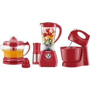 Kit Mondial Gourmet Red II - KT-70 - R$152