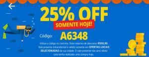 25% extra no peixe Urbano login Facebook