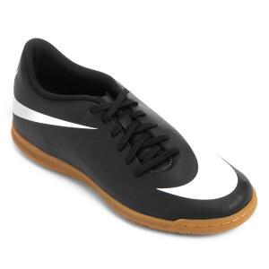 Chuteira Futsal Nike Bravata 2 IC - Preto e Branco R$120