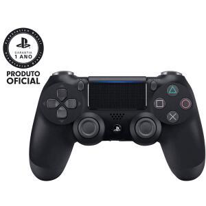 Controle sem Fio Dualshock 4 Sony PS4 - Preto R$ 197