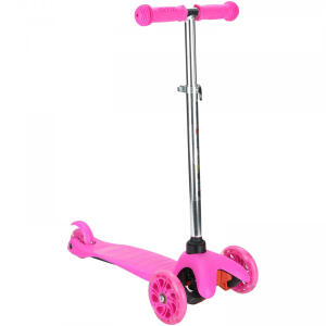 Patinete 3 Rodas Spin Roller com Luzes de Led - Infantil R$194