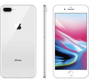 "iPhone 8 Plus 64gb Silver Tela 5.5"" iOS 12 4G Câmera 12 MP - Apple"
