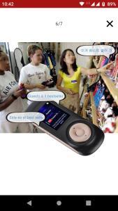 Portátil Smart Wireless 70 Idiomas Tradutor Handheld Tempo Real Interativo Instantâneo Voz Tradução