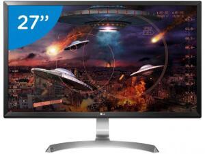 "Monitor Gamer LG LED 27"" IPS Ultra HD/4K - Widescreen 27UD59-B | R$ 1593"