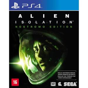 Game - Alien Isolation - Nostromo Edition - PS4 | R$90